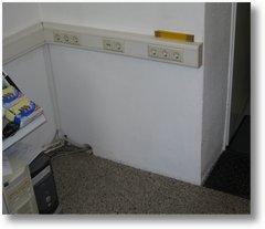 jede ecke im computerladen wird genutzt - bürocontainer bild 1