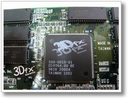 Und noch ein altes Stueck Hardware eine Voodoo2 Grafikkarte von 3dfx (3)
