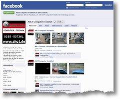 AHCT Computer erste Facebook Experimente