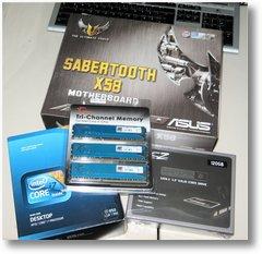 PC Aufrüstung asus sabertooth intel i5 ssd von ocz