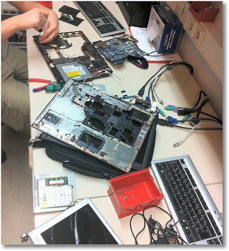 grosses Notebookschlachten bei AHCT Computer