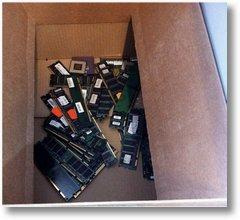 alte SD-RAM Module zu entsorgen oder zu verschenken