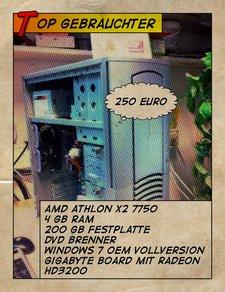 Gebrauchter Athlon x2 7750 PC