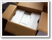 LG NAS N2A2 02 unboxing das Geraet selbst ist sicher verpackt